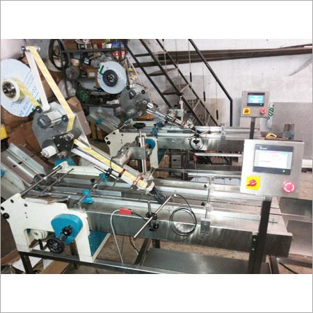 Top Side Sticker Labeling Machines