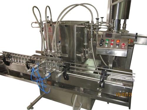 Automatic Free Flow Liquid Filling Machines