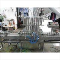 Automatic Six Head Free Liquid Filling Machines