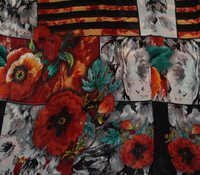 Exclusive Flower Printed Georgette Fabric