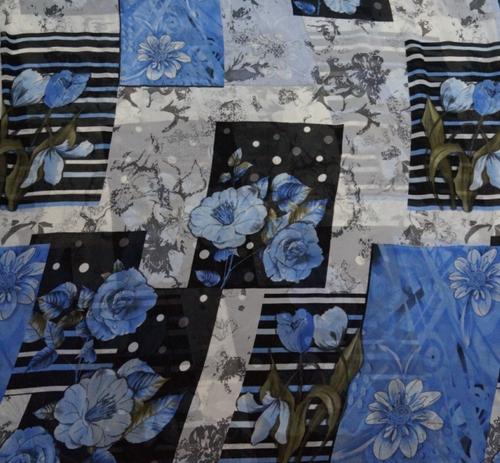 Custom Printed Georgette Fabric