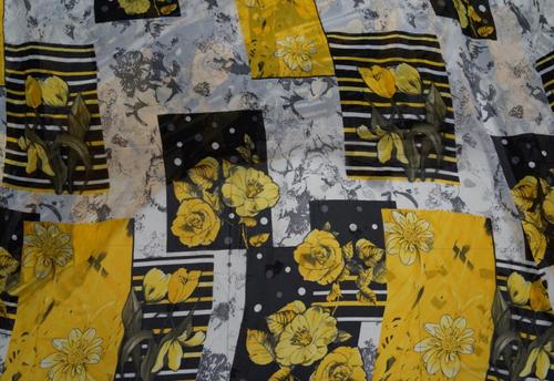 Georgette fancy printed Fabric