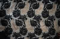 Jari Net Embroidery Fabric