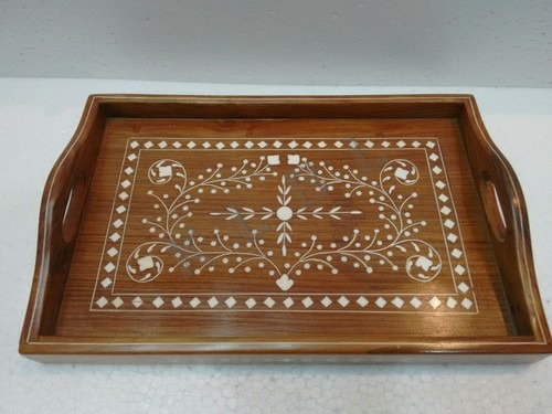 Wooden Inlaid Trays