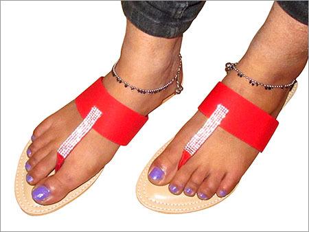 Stone Studded Sandals