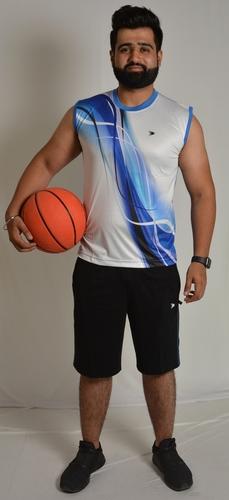 Mens Sleeveless Sports Jersey