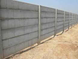 Prestress RCC Compound Wall