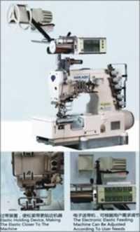 Computerized Direct Drive Flat Bed Interlock Machine