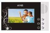 Villa type video door phone AVP-1122I4.3B