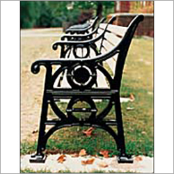 Decorative Cast Iron Bench