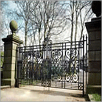 Decorative Ci Entrance Gate