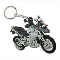 Soft PVC Motorcycle Keychain