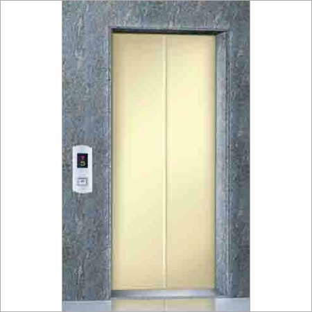 Ms Powder Coated Elevator Landing Door