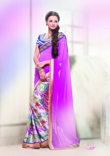 Stylish Trendy Designer Saree