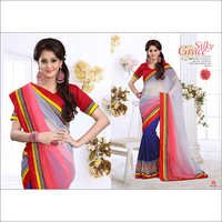 Stylish Designer Embroidered Saree