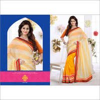 Stylish Party Wear Designer Saree