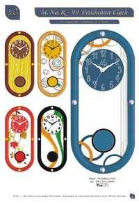 pendulum wall clock india