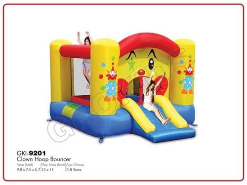 Clown Hoop Bouncer