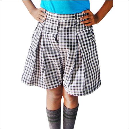 J-Check Skirt Cotton