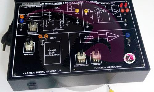 Amplitude Modulation & Demodulation Kit