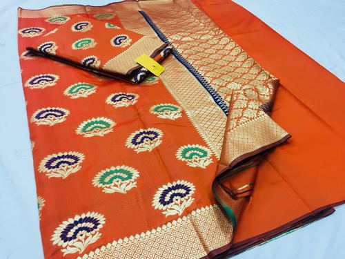 Rajtex Pure Silk Saree Collection Heavy Zari Butta
