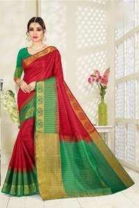 New Designer Art Silk Saree