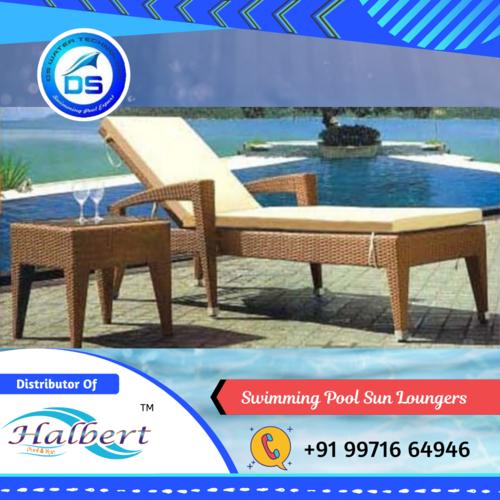 Swimming Pool Sun Loungers