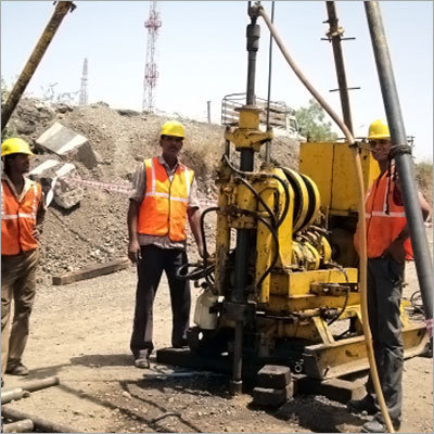 Core Drilling Geotechnical Investigation