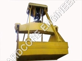 4 Rope Grab Bucket Side View