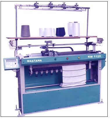 Mastana Semi computerized flat bed knitting machine