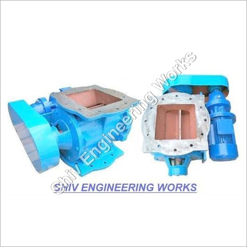 Self Cleaning Rotary Airlock Valves
