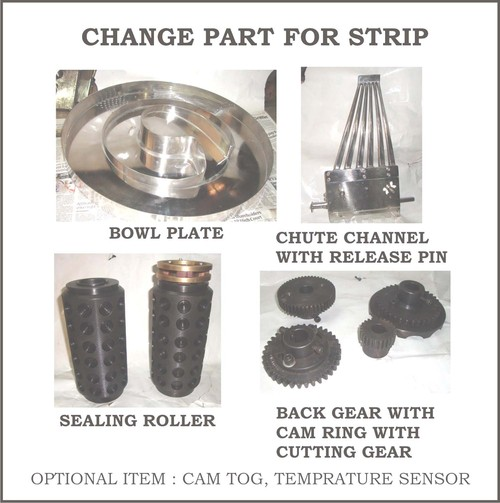 Strip Packing Change Part