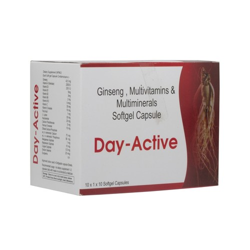 Day Active (Multivitamin Multi mineral Soft Gel Capsule) Strip