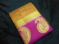 Tussra silk saree