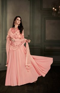 Designer Readymade Gown Anarkali Suit