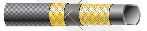 Rubber chemical hose pipe