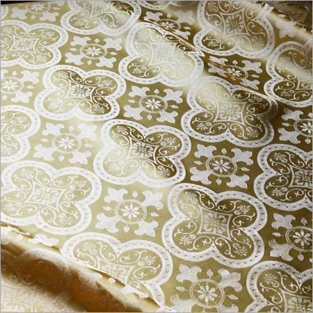 Printed Brocade Fabric