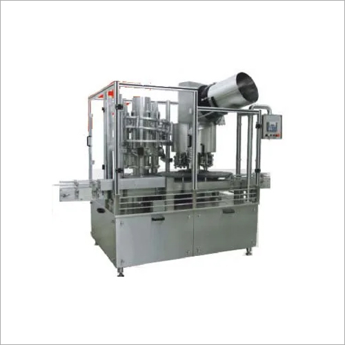 Rotary Volumetric Bottle Liquid Filling And R.O.P.P Machine (MONOBLOC)