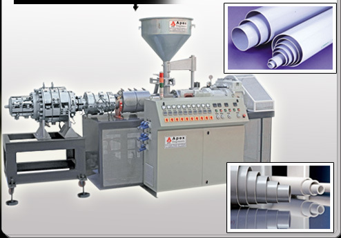PVC ELCECTRIC PIPE MAKING MACHINE MANUFACTURER & EXPORTER IN LUCKNOW U.P