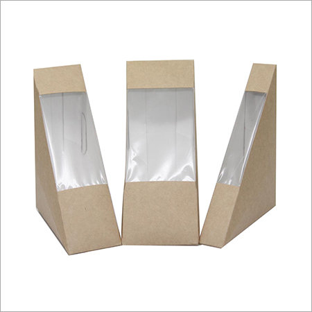 Cardboard Sandwich Box