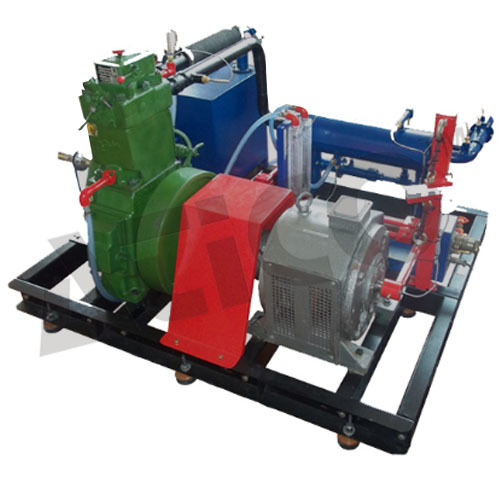 Computerized Four Stroke Four Cylinder Water Cooled Diesel Engine Test Rig