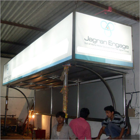 Fabricated Bus Shelter