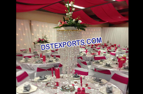 Wedding Table Crystal Jhumer Stand