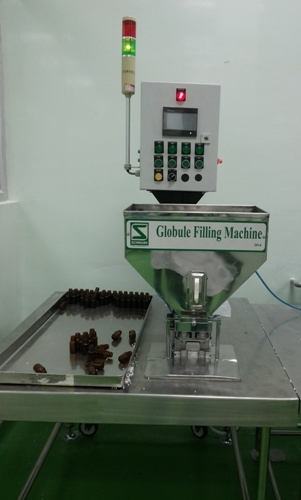 Globule Filling Machine