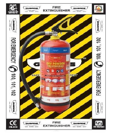 Fire Extinguisher Wall Stickers
