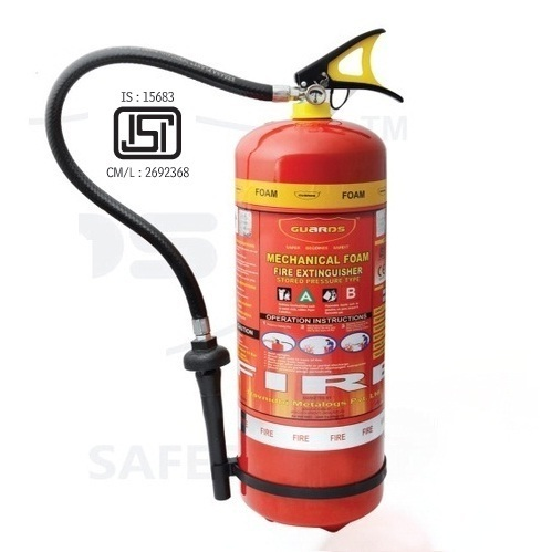 9 Ltr Mechanical Foam Fire Extinguishers