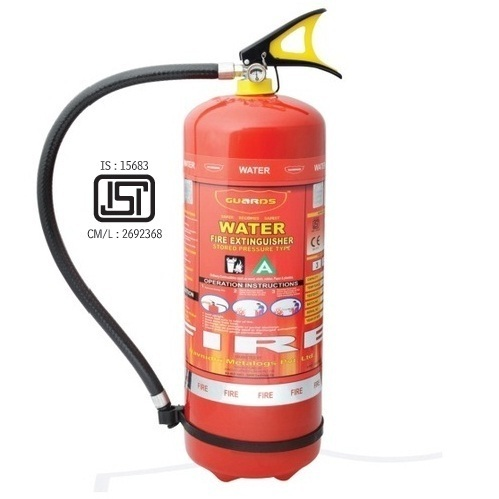 9 Ltr. Water Type Portable Fire Extinguishers