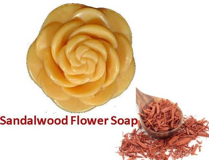 Sandalwood Flower Soap
