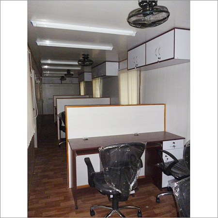 Furnished Site Office Cabin