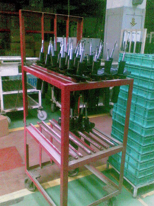 Assembly Line Storage Table